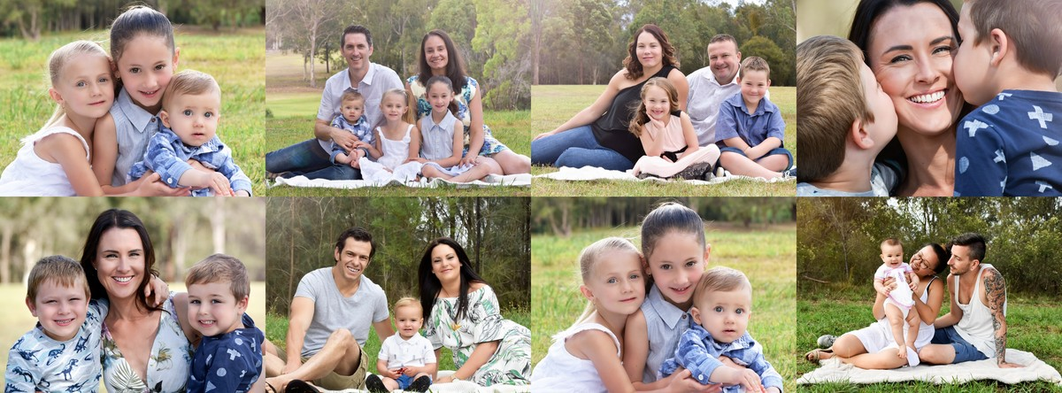 Photography and Film by Hannah Elizabeth Family sessions wearing blue