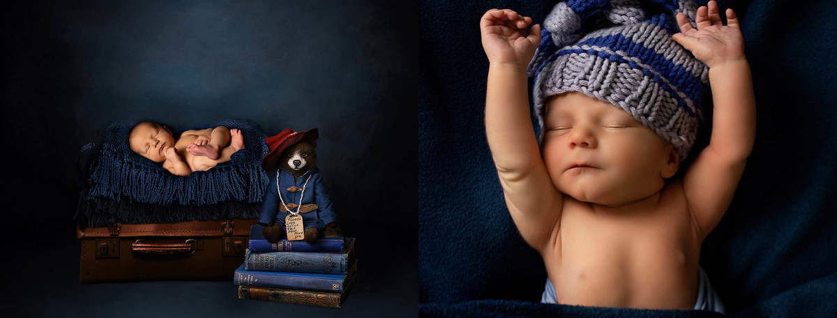 Townsville best Newborn photographer - Newborn Paddington bear