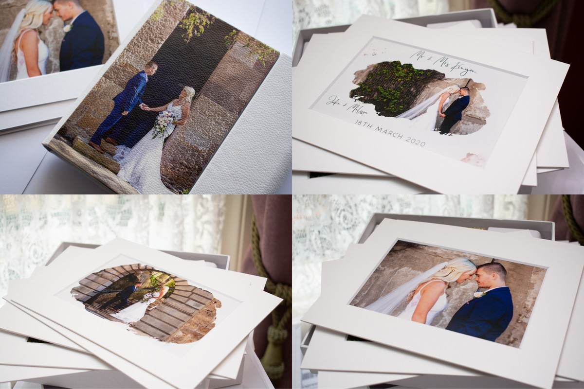 Photography Wedding album and Prints